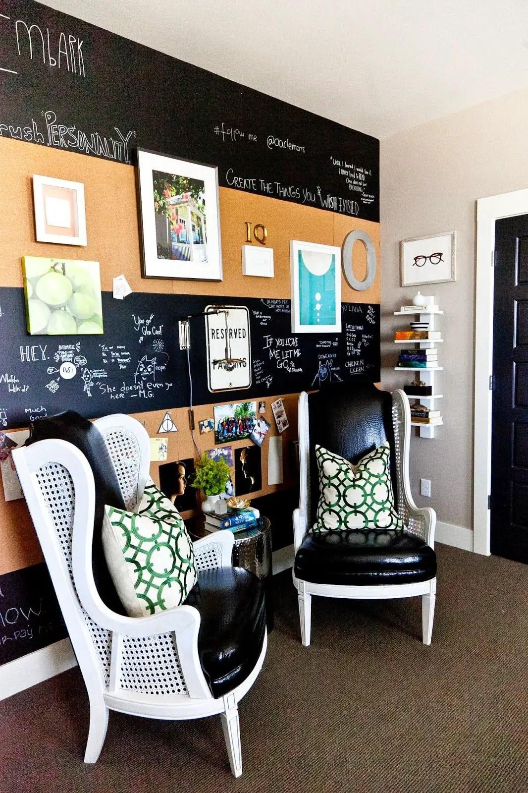 Chalk Wall Bedroom Ideas 130