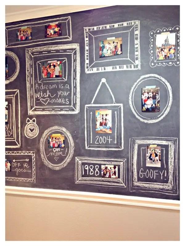 Chalk Wall Bedroom Ideas 136