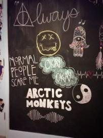 Chalk Wall Bedroom Ideas 143