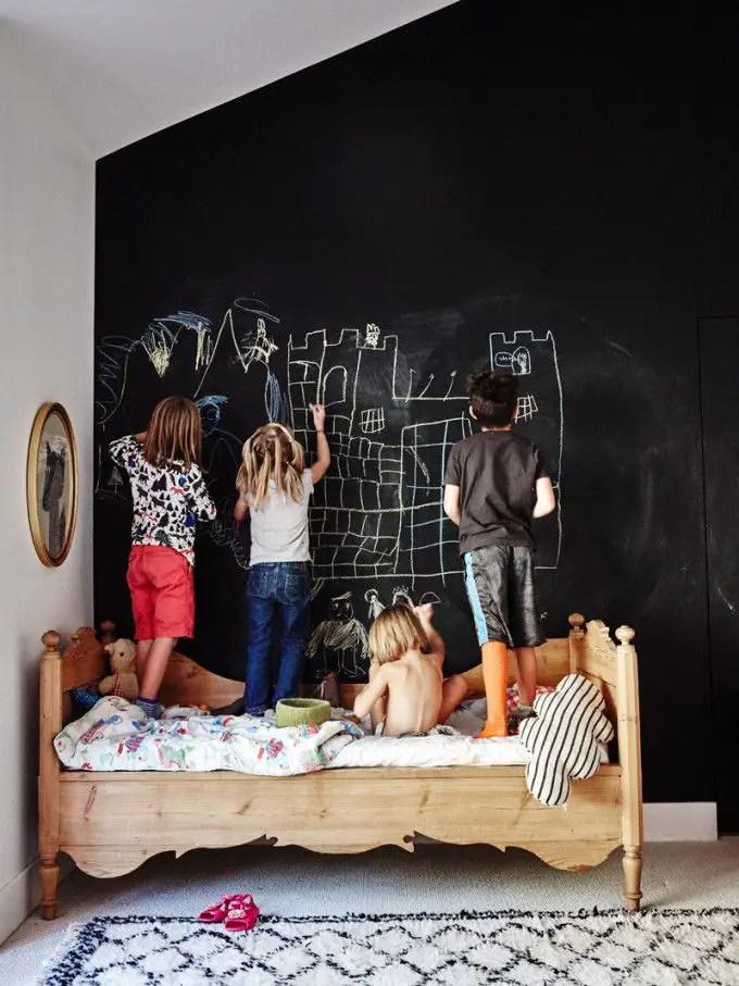 Chalk Wall Bedroom Ideas 27