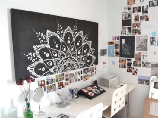 Chalk Wall Bedroom Ideas 29