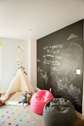 Chalk Wall Bedroom Ideas 39