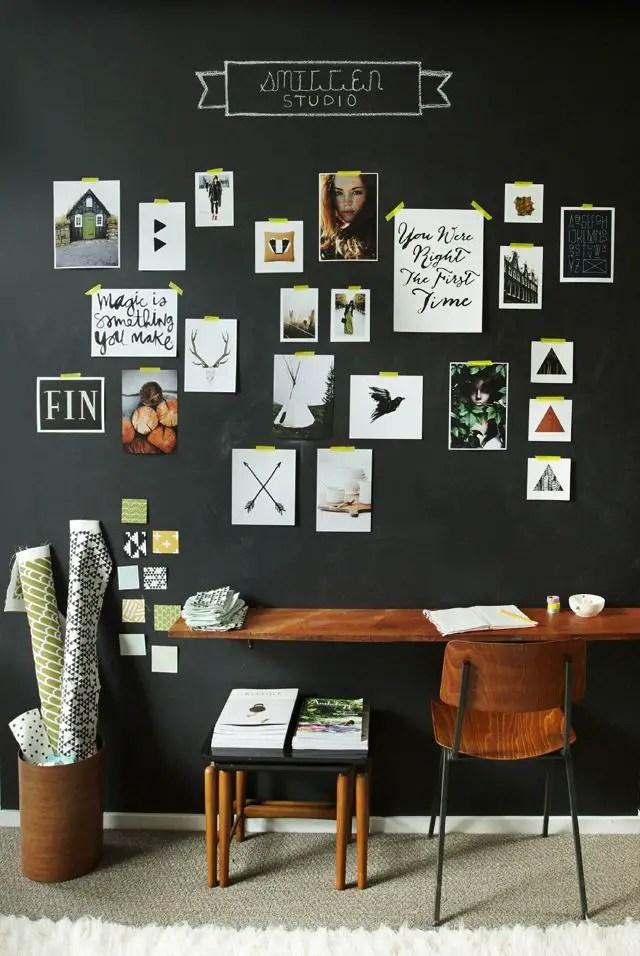 Chalk Wall Bedroom Ideas 45