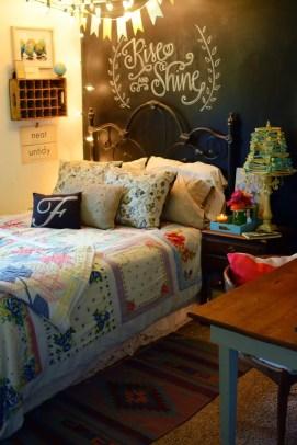 Chalk Wall Bedroom Ideas 46