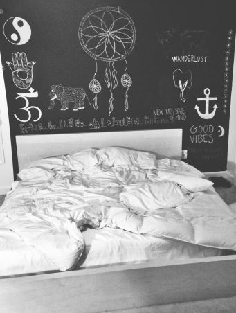 Chalk Wall Bedroom Ideas 48