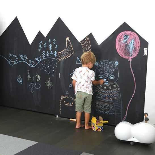 Chalk Wall Bedroom Ideas 55