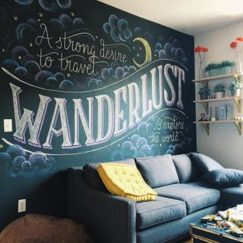 Chalk Wall Bedroom Ideas 72