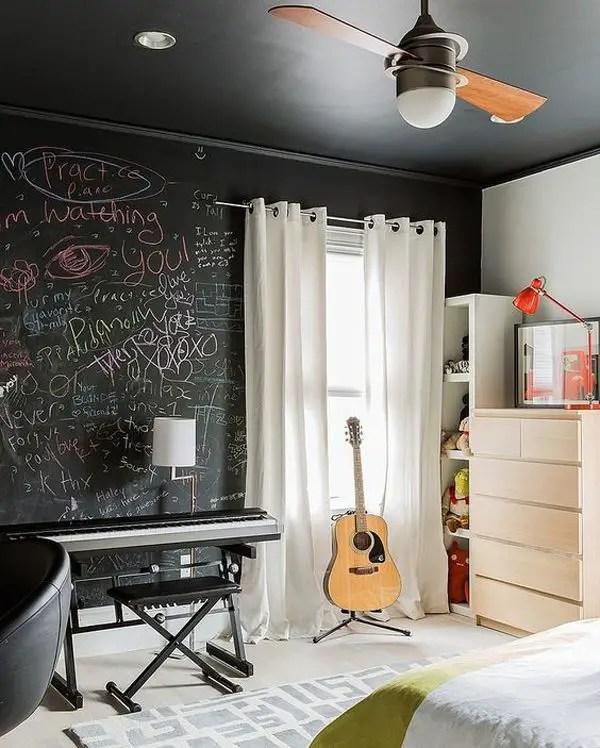 Chalk Wall Bedroom Ideas 79