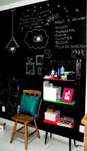 Chalk Wall Bedroom Ideas 87