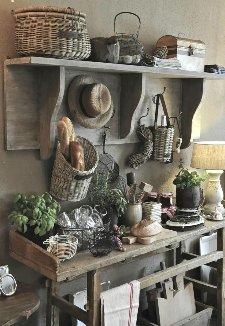 European Farmhouse Kitchen Decor Ideas 124