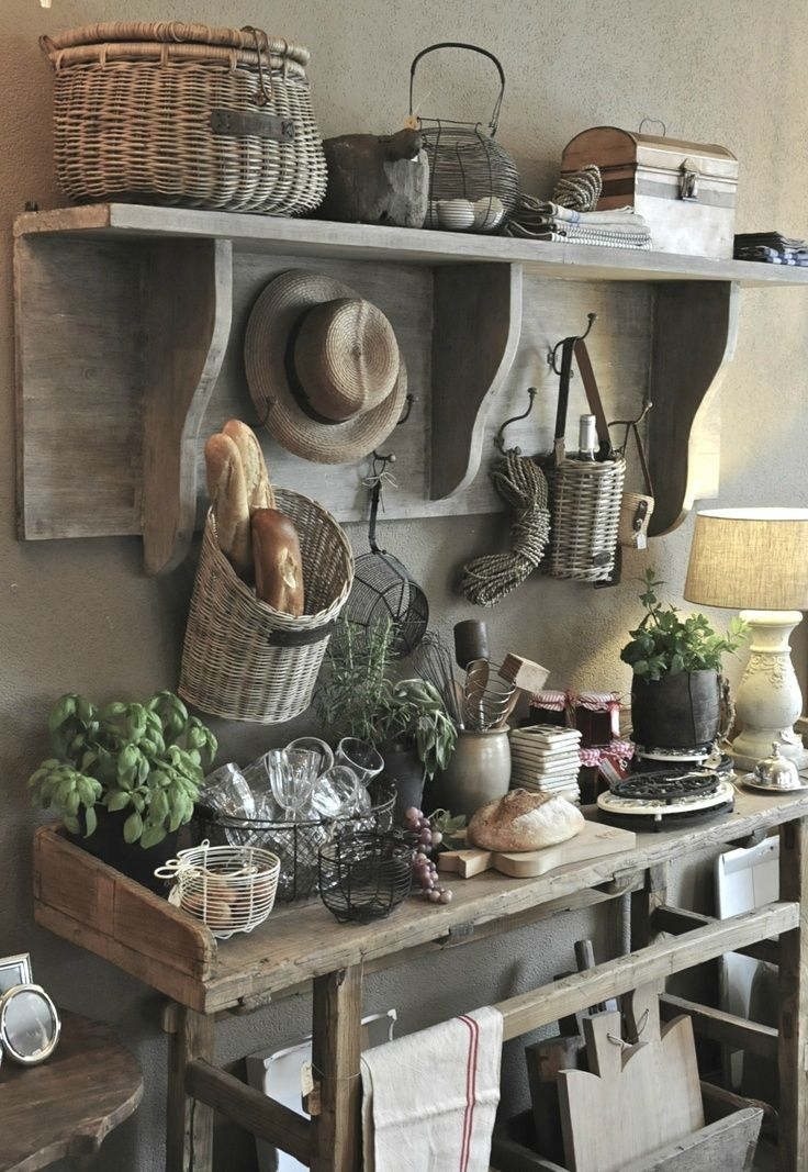 European Farmhouse Kitchen Decor Ideas 124