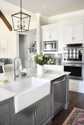 European Farmhouse Kitchen Decor Ideas 47