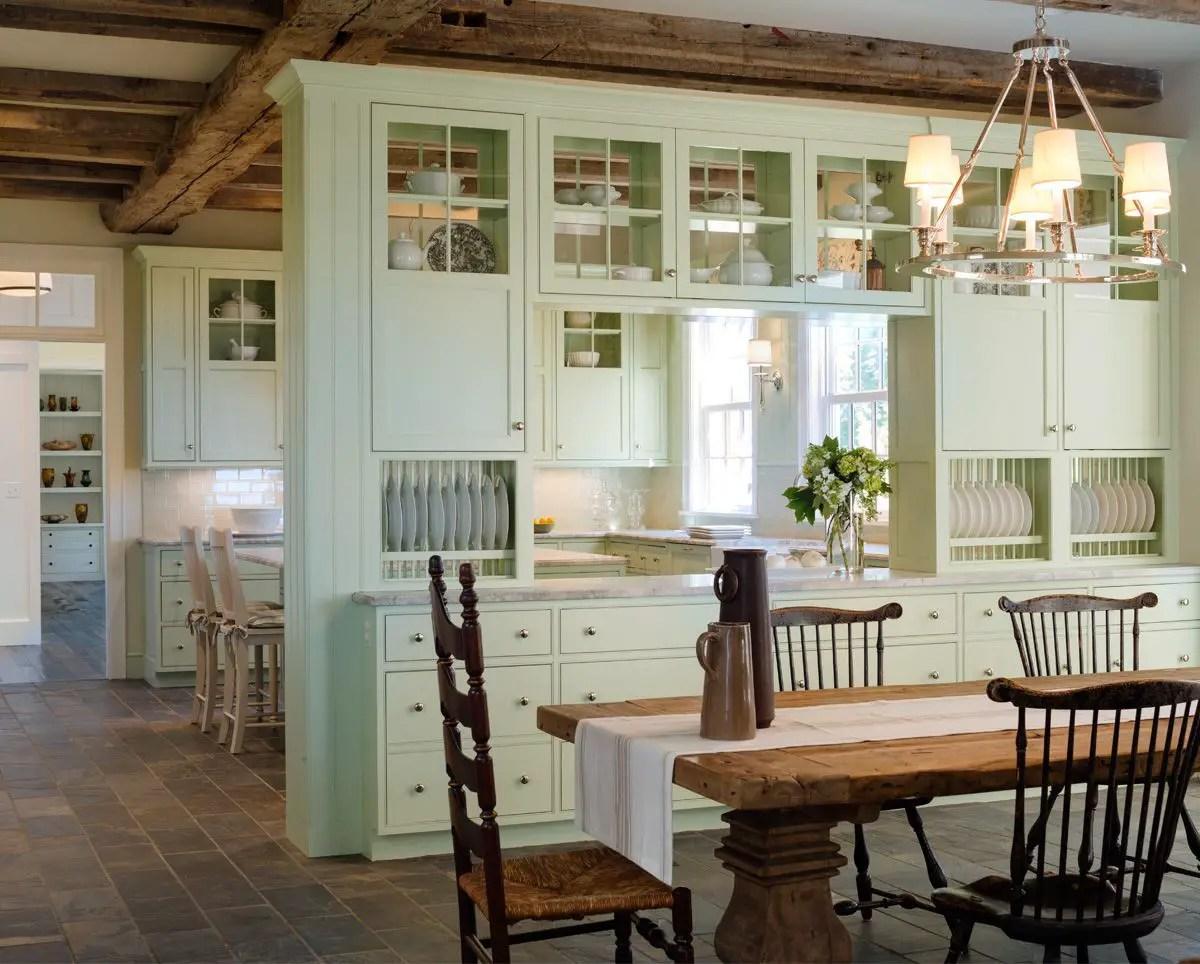European Farmhouse Kitchen Decor Ideas 59