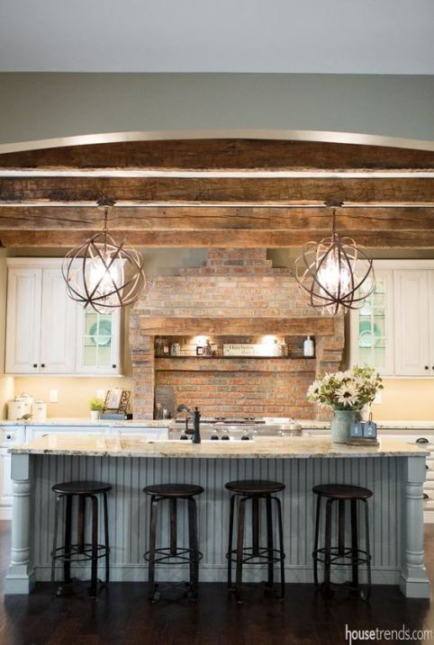 European Farmhouse Kitchen Decor Ideas 6