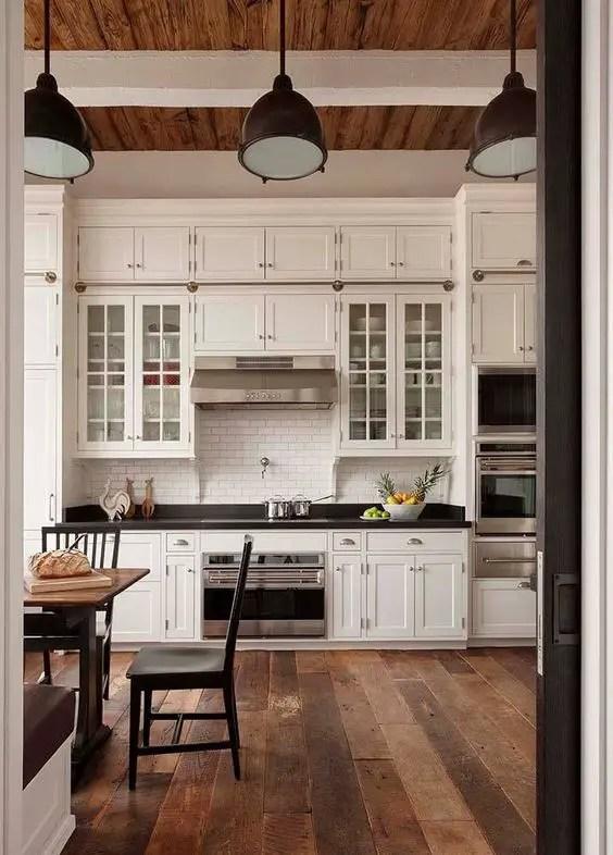 european farmhouse kitchen decor ideas 76  decoratoo