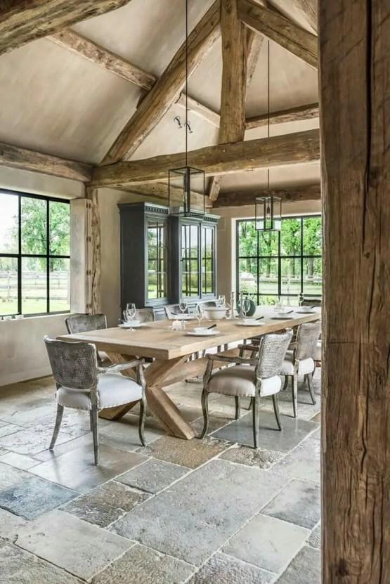 European Farmhouse Kitchen Decor Ideas 8