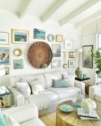 Farmhouse Gallery Wall Ideas 124