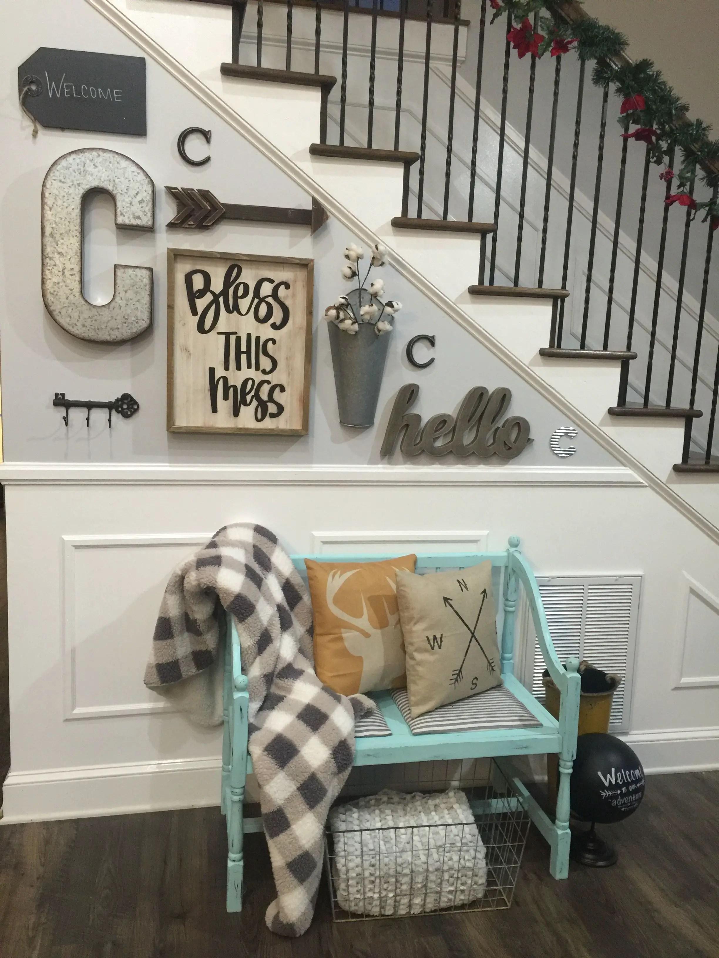 Farmhouse Gallery Wall Ideas 141