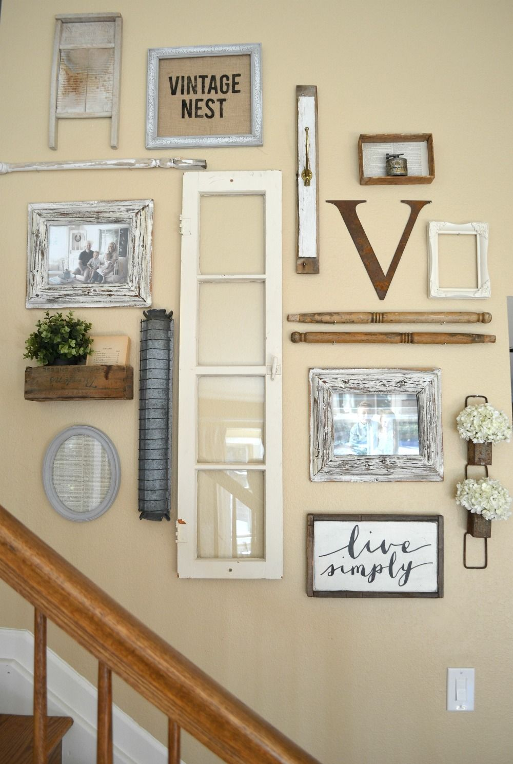 Farmhouse Gallery Wall Ideas 15
