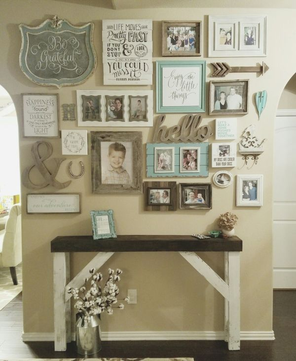 Country Chic Wall Decor Ideas