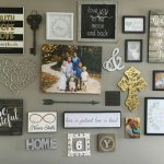 Farmhouse Gallery Wall Ideas 44