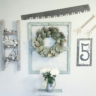 Farmhouse Gallery Wall Ideas 81