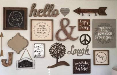 Farmhouse Gallery Wall Ideas 86