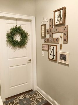 Farmhouse Gallery Wall Ideas 92