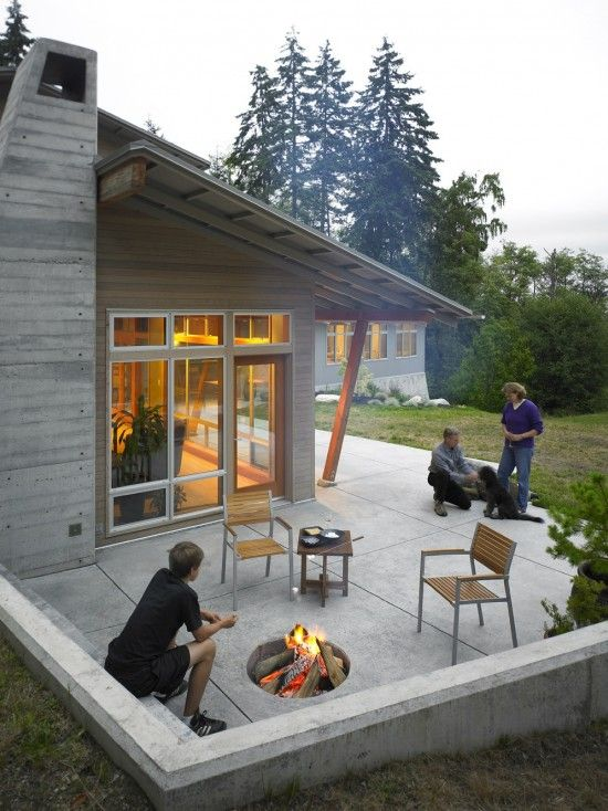Fire Pit Seating Ideas 1