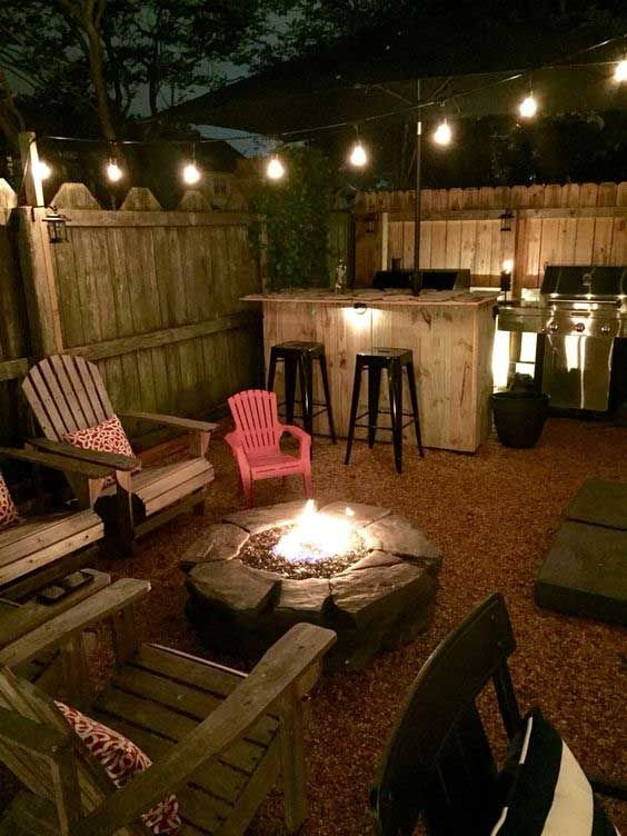 Fire Pit Seating Ideas 117