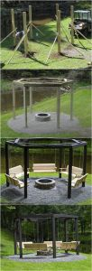 Fire Pit Seating Ideas 120