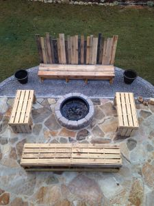 Fire Pit Seating Ideas 123