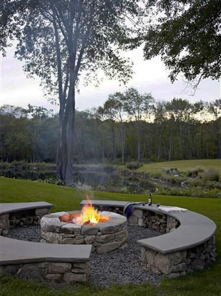 Fire Pit Seating Ideas 133