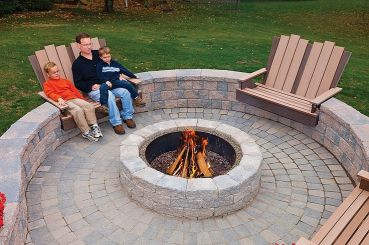 Fire Pit Seating Ideas 136
