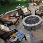 Fire Pit Seating Ideas 146
