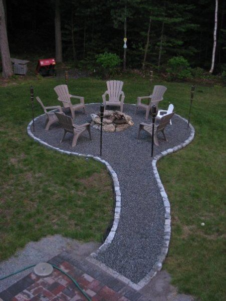 Fire Pit Seating Ideas 155