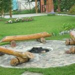 Fire Pit Seating Ideas 160