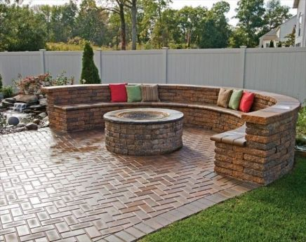 Fire Pit Seating Ideas 165
