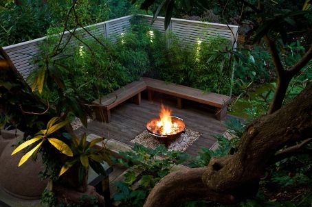 Fire Pit Seating Ideas 19