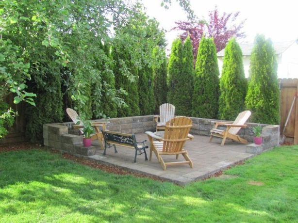 Fire Pit Seating Ideas 22