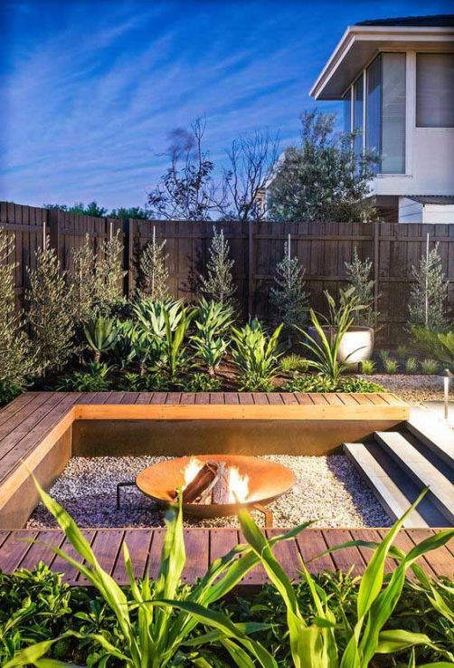 Fire Pit Seating Ideas 24