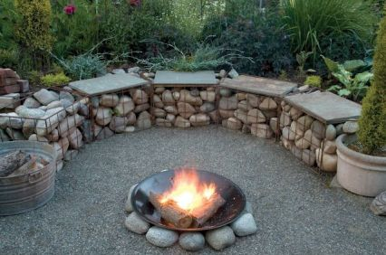 Fire Pit Seating Ideas 29