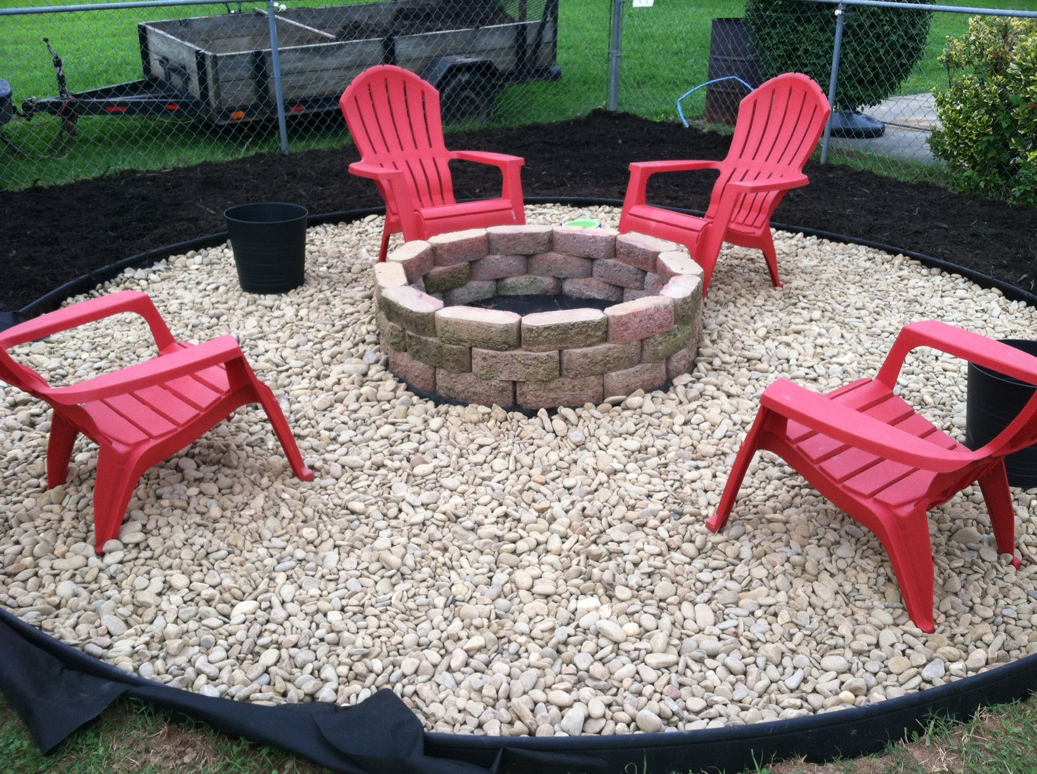 Fire Pit Seating Ideas 3