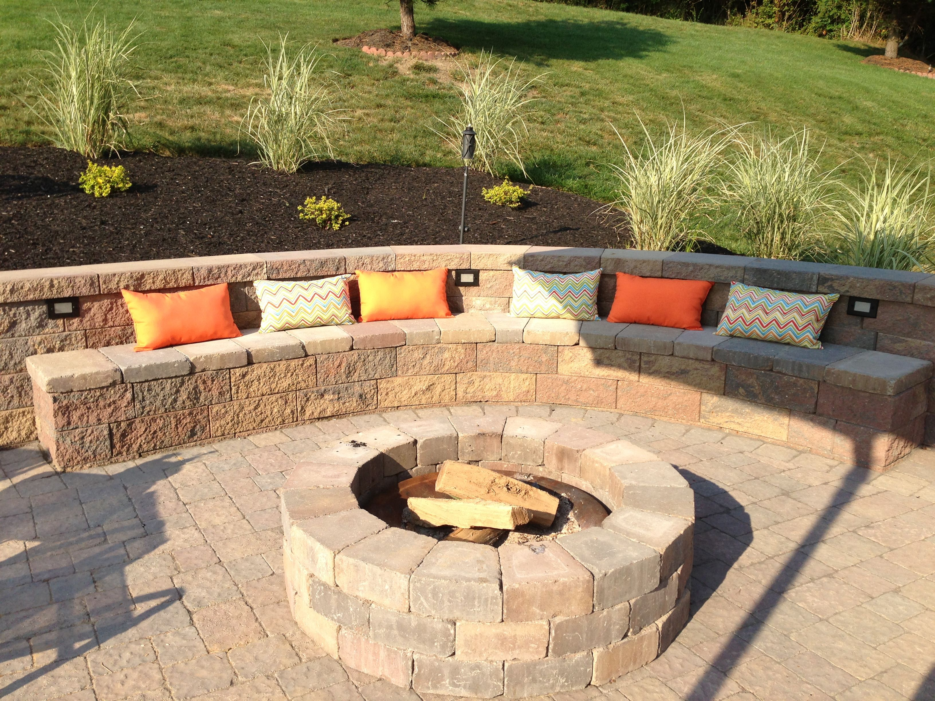 Fire Pit Seating Ideas 38