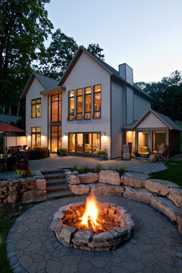 Fire Pit Seating Ideas 43