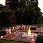 Fire Pit Seating Ideas 49