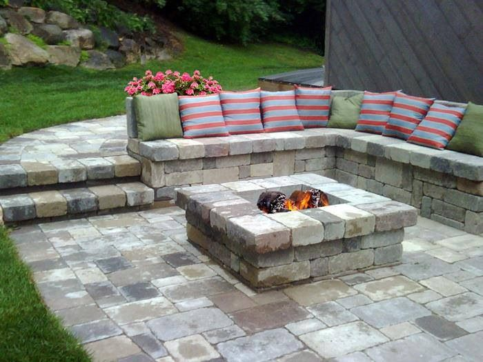 Fire Pit Seating Ideas 50