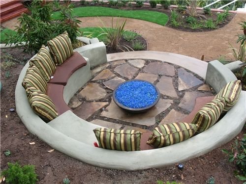 Fire Pit Seating Ideas 56
