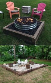 Fire Pit Seating Ideas 59