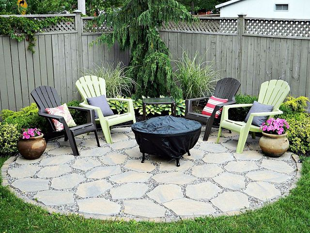 Fire Pit Seating Ideas 83